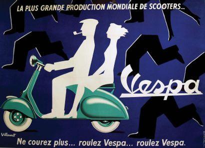 Vespa / VILLEMOT / La plus grande production...