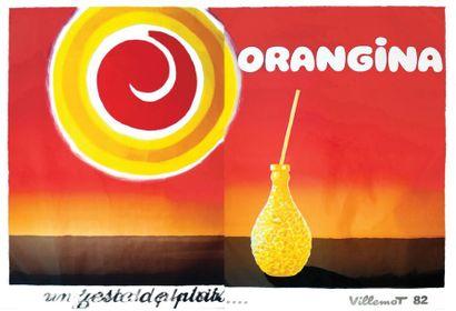 Orangina un zeste de plaisir / VILLEMOT BERNARD...