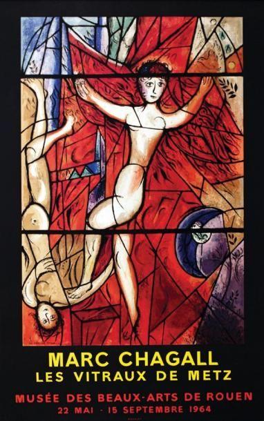 Marc Chagall / Les Vitraux de Metz. 1964....