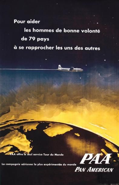 PAA - Pan American / Pour aider les hommes...