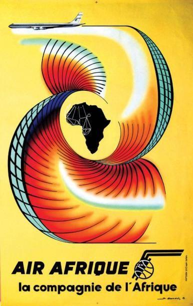 Air Afrique 1963 / HERMEREL M. / La compagnie...