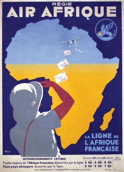 Régie Air Afrique / ROQUIN / La Ligne de...