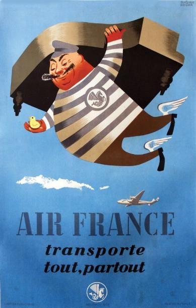 Air France / HUGON ROLAND / Transporte tout,...
