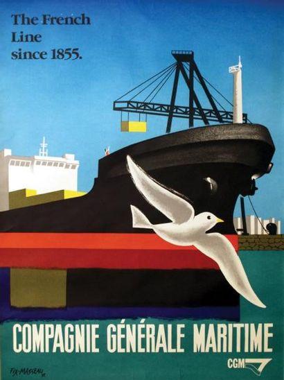 Compagnie Générale Maritime 1993 / FIX-MASSEAU...