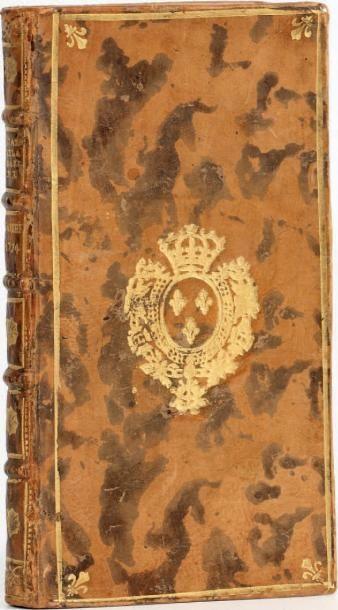 État de la marine. Année 1774. Paris, Le Breton, 1774. In-24, veau marbré aux armes...