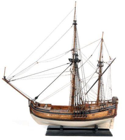 Hourque, navire marchand hollandais, coque...