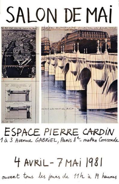 Salon de Mai 1981 1980 - CHRISTO - Espace...
