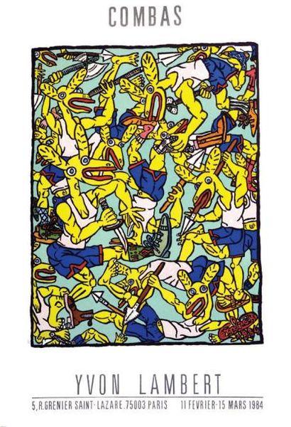 Combas - Yvon Lambert - Paris - 1984 1984...