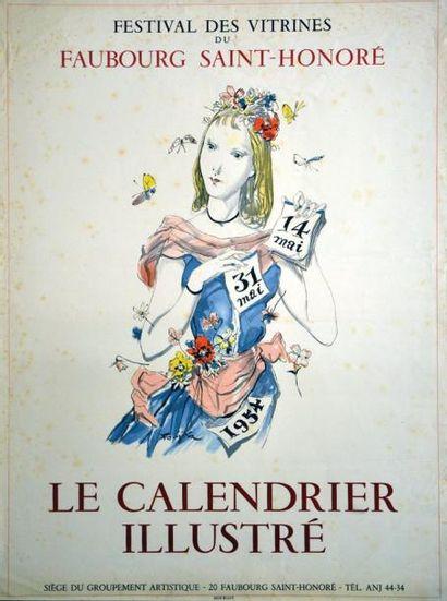 Le Calendrier Illustré - FOUJITA - Festival...