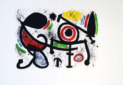 Miro Composition - MIRO JOAN 1 Affiche Non-Entoilée...