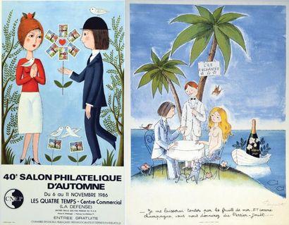 L'Ile Enchantée / 39e Salon Philatélique...