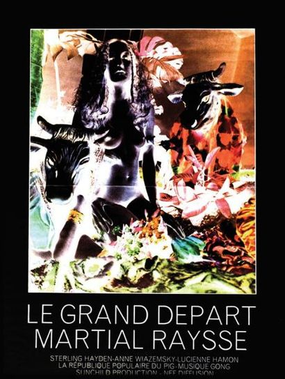Le Grand Départ - Martial Raysse - RAYSSE...