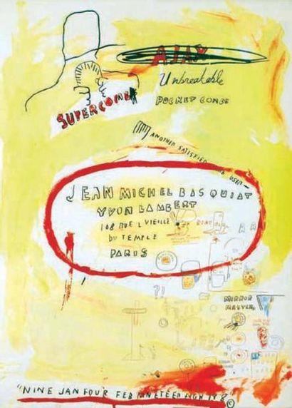Supercombas - Jean Michel Basquiat - BASQUIAT...