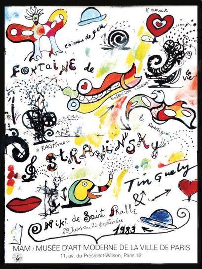 Fontaine de Stravinsky - Niki de Saint Phalle...