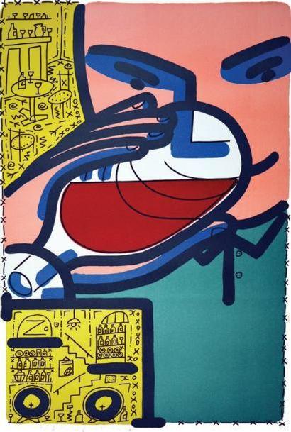 «Willy's Wine Bar» - BOISROND FRANCOISSignée...