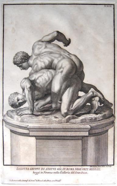 Robert van Audenaerd (1663-1743) D'après le groupe sculpté des