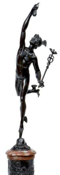D'après Jean DE BOLOGNE (1529-1608 ) Hermès