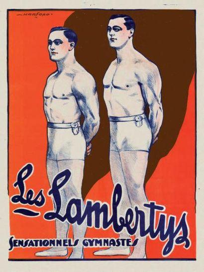 LES LAMBERTY'S SENSATIONELS GYMNASTES Affiche...