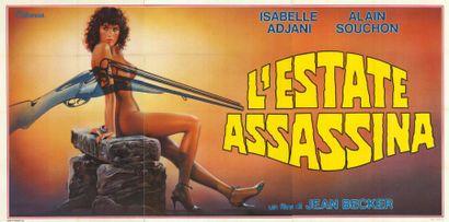ETE MEURTRIER (l') BECKER Jean - 1983 Affiche...