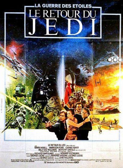 RETOUR DU JEDI (le) LUCAS George - 1983 Affiche...