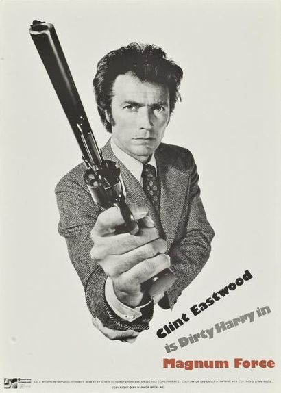MAGNUM FORCE POST Ted - 1973 Affiche anglaise...