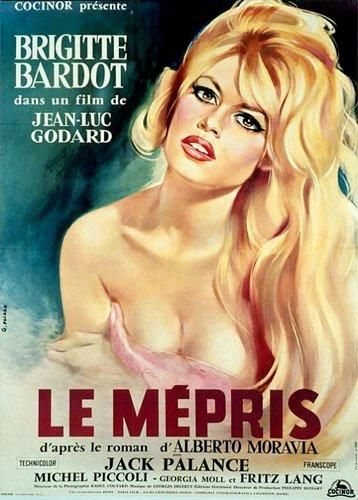 MEPRIS (le) GODARD Jean-Luc - 1963 Pliée,...