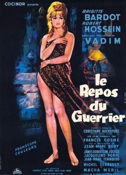 REPOS DU GUERRIER (le) VADIM Roger - 1962...