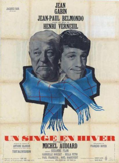 UN SINGE EN HIVER VERNEUIL Henri - 1962 Affiche...