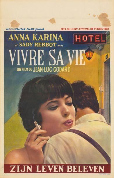 VIVRE SA VIE GODARD Jean-Luc - 1962 Affiche...