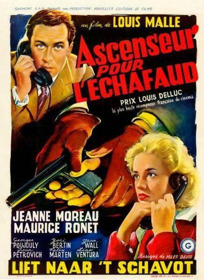 ASCENSEUR POUR L'ECHAFAUD MALLE Louis - 1957...