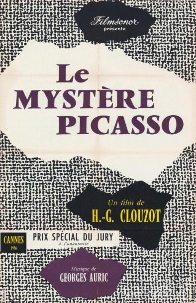 MYSTERE PICASSO (le) CLOUZOT Henri-Georges...