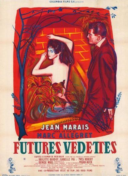 FUTURES VEDETTES ALLEGRET Marc - 1955 Entoilage...