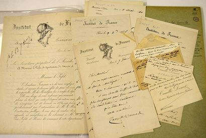 DOUCET Camille [Paris, 1812 - id., 1895] Auteur dramatique français Ensemble de 10...
