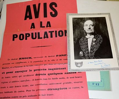 ROMAINS Jules (Louis Farigoule, dit) [Saint-Julien-Chapteuil, 1885 - Paris, 1972]