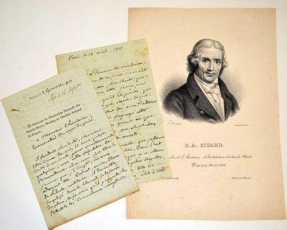 SICARD (Roch Ambroise Cucurron, dit l'abbé)...