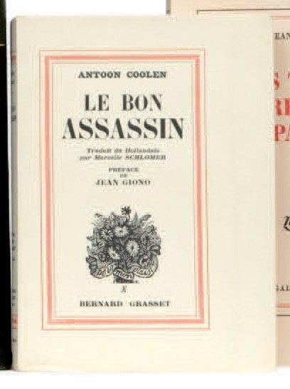 (GIONO Jean) COOLEN Antoon