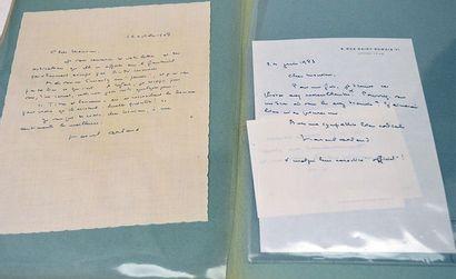 ARLAND Marcel [Varennes-sur-Amance, 1899 - Saint-Sauveur-surÉcole, 1986] Écrivain...