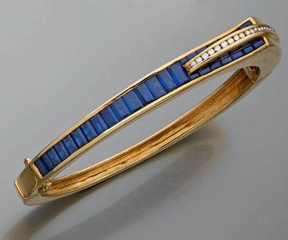 Bracelet jonc Rigide, ouvrant, articulé,...