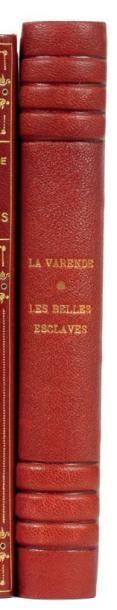 LES BELLES ESCLAVES: Flammarion Paris 1949....