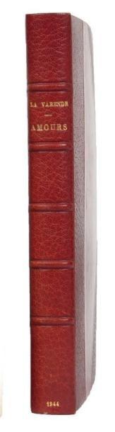 AMOURS: Union Bibliophile de France/Maximilien...