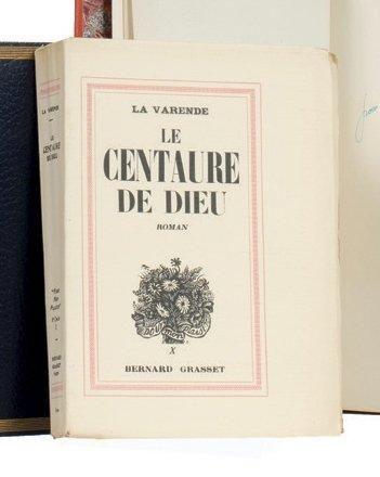 LE CENTAURE DE DIEUX: Grasset Paris 1938....