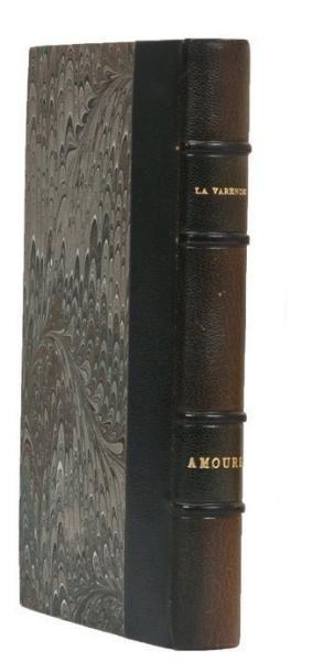 AMOURS: Editions du Rocher Monaco 1949. E.O...