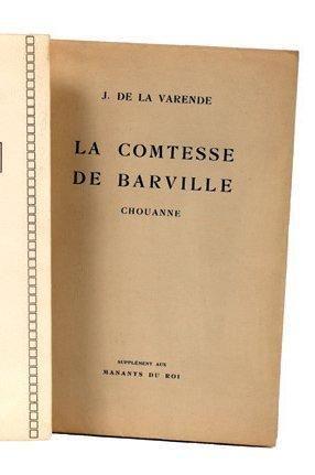 LA COMTESSE DE BARVILLE (CHOUANNE): Société...