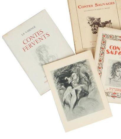 CONTES FERVENTS: Defontaine Editeur Rouen...