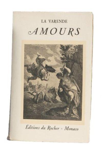 AMOURS: Editions du Rocher Monaco 1949. E.O....