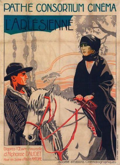 ARLESIENNE (l') André ANTOINE - 1922 Entoilage...