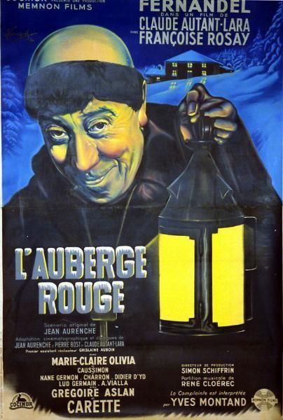 AUBERGE ROUGE (l') Claude AUTANT-LARA - 1951...