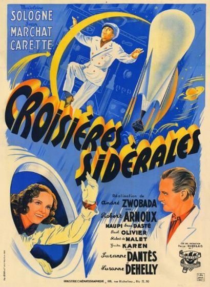 CROISIERES SIDERALES André ZWOBADA - 1941...
