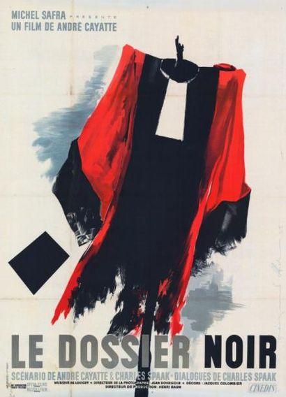 DOSSIER NOIR (le) André CAYATTE - 1955 Entoilage...