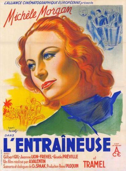 ENTRAINEUSE (l') Albert VALENTIN - 1938 Entoilée,...